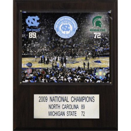 NCAA Basketball North Carolina 2009 Basketball Champions Plaque - image 1 of 1