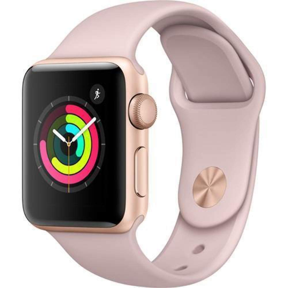 Refurbished Watch Series 2 42mm Apple Rose Gold Aluminum Case Pink Sand Sport Band MQ142LL/A