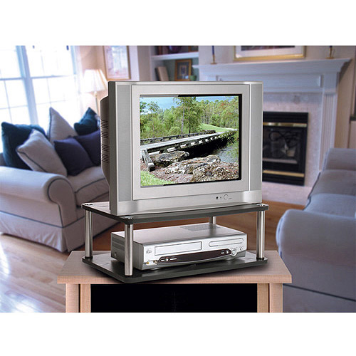 "Designs 2 Go Double Swivel Board Black for TV or Monitor, for TVs up to 20"" by Convenience Concepts"