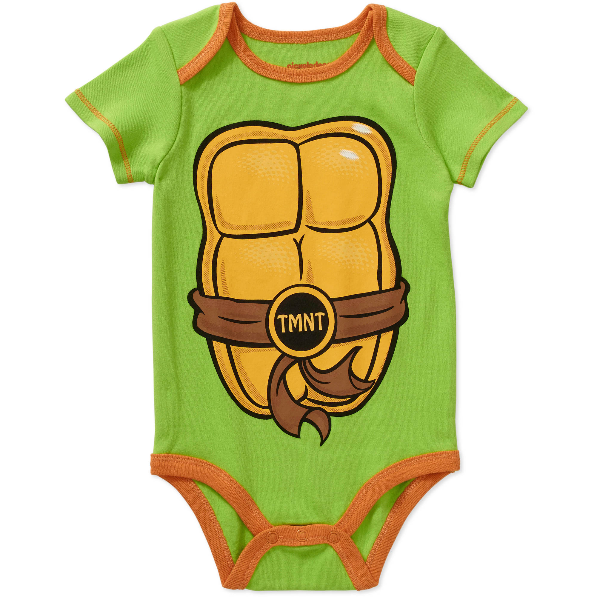 Teenage Mutant Ninja Turtles Newborn Baby Boy License Body Suit