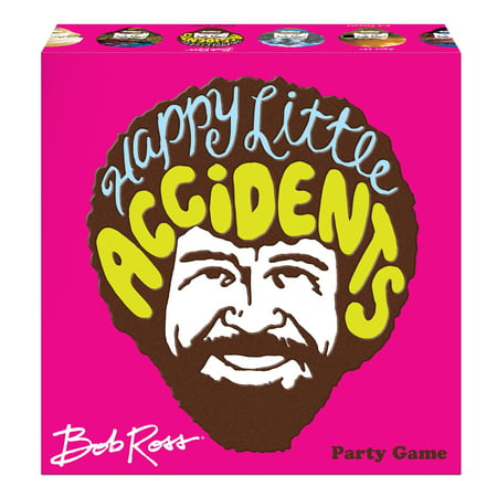 Big G Creative Bob Ross: Happy Little Accidents Party Game