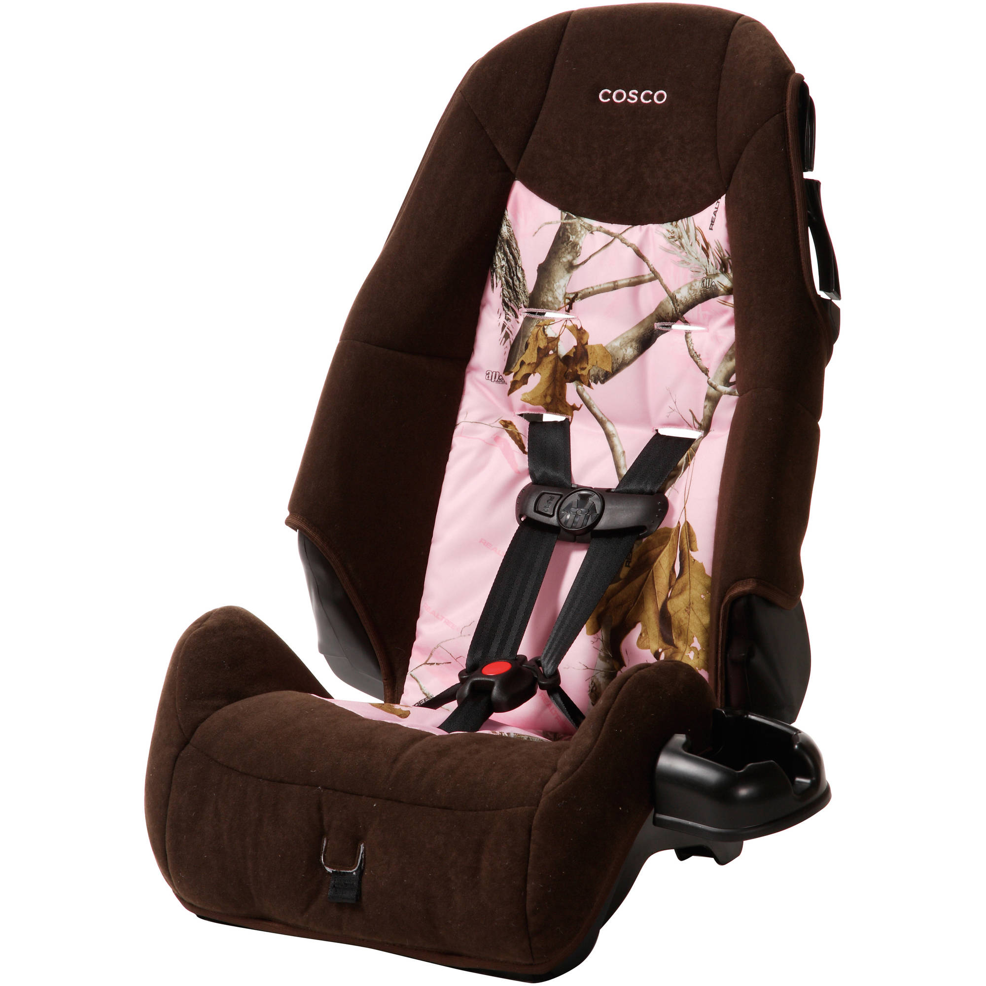 Cosco High-Back Booster Car Seat, Realtree Pink
