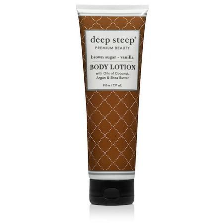 Deep Steep Brown Sugar Vanilla Body Lotion, 8 oz ()