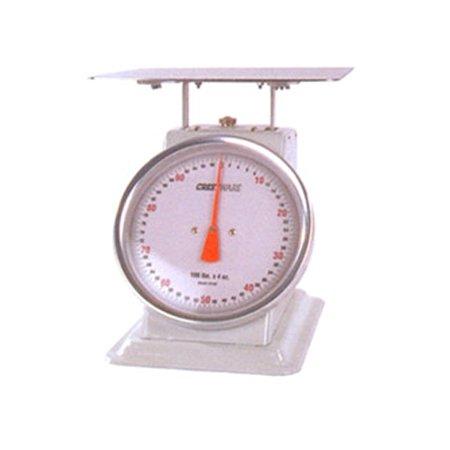 "Receiving Scale 70 lbs./90kg, 11"" diam. Dial, 12.5"" x 12.5"" platform"
