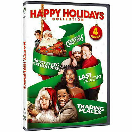 Trading Christmas.Happy Holidays Collection Trading Places Last Holiday Surviving Christmas All I Want For Christmas Widescreen