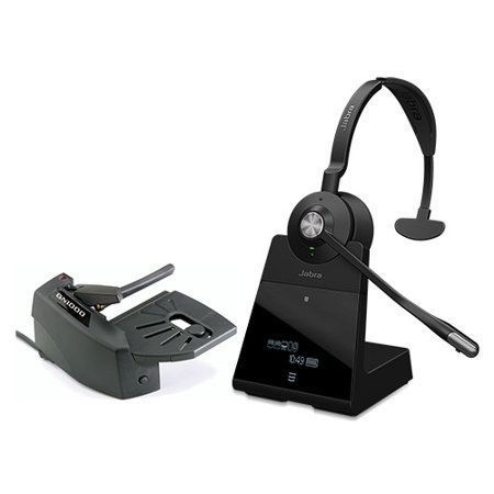 0aa29918919 Jabra Engage 75 Mono Noise-Canceling Wireless Headset w/ GN1000 Remote  Handset Lifter - Walmart.com