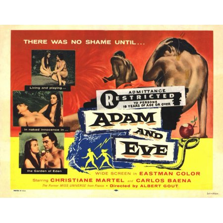 Adam And Eve Costumes Halloween (Adam and Eve POSTER Movie Mini)