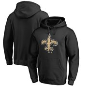 New Orleans Saints NFL Pro Line by Fanatics Branded Splatter Logo Pullover Hoodie - Black