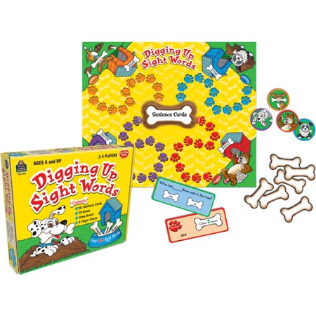 DIGGING UP SIGHT WORDS GAME AGES 6 & UP - Sight Words Game