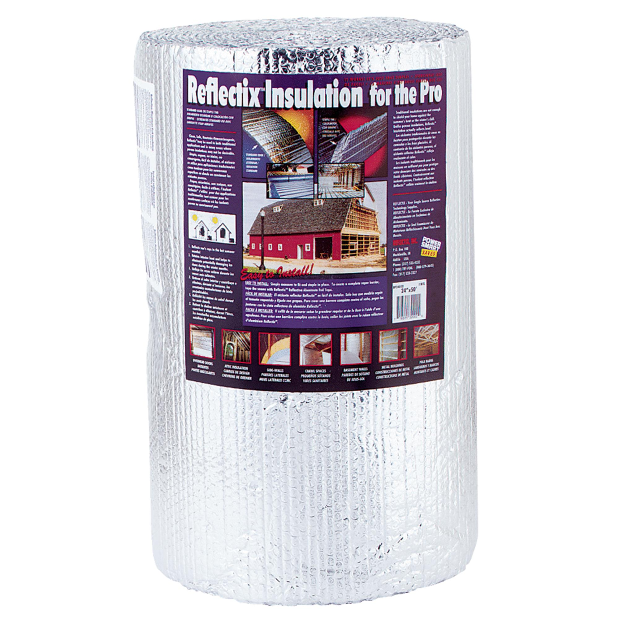 Reflectix BP24050 24-Inch-by-50-Foot Bubble Pack Insulation