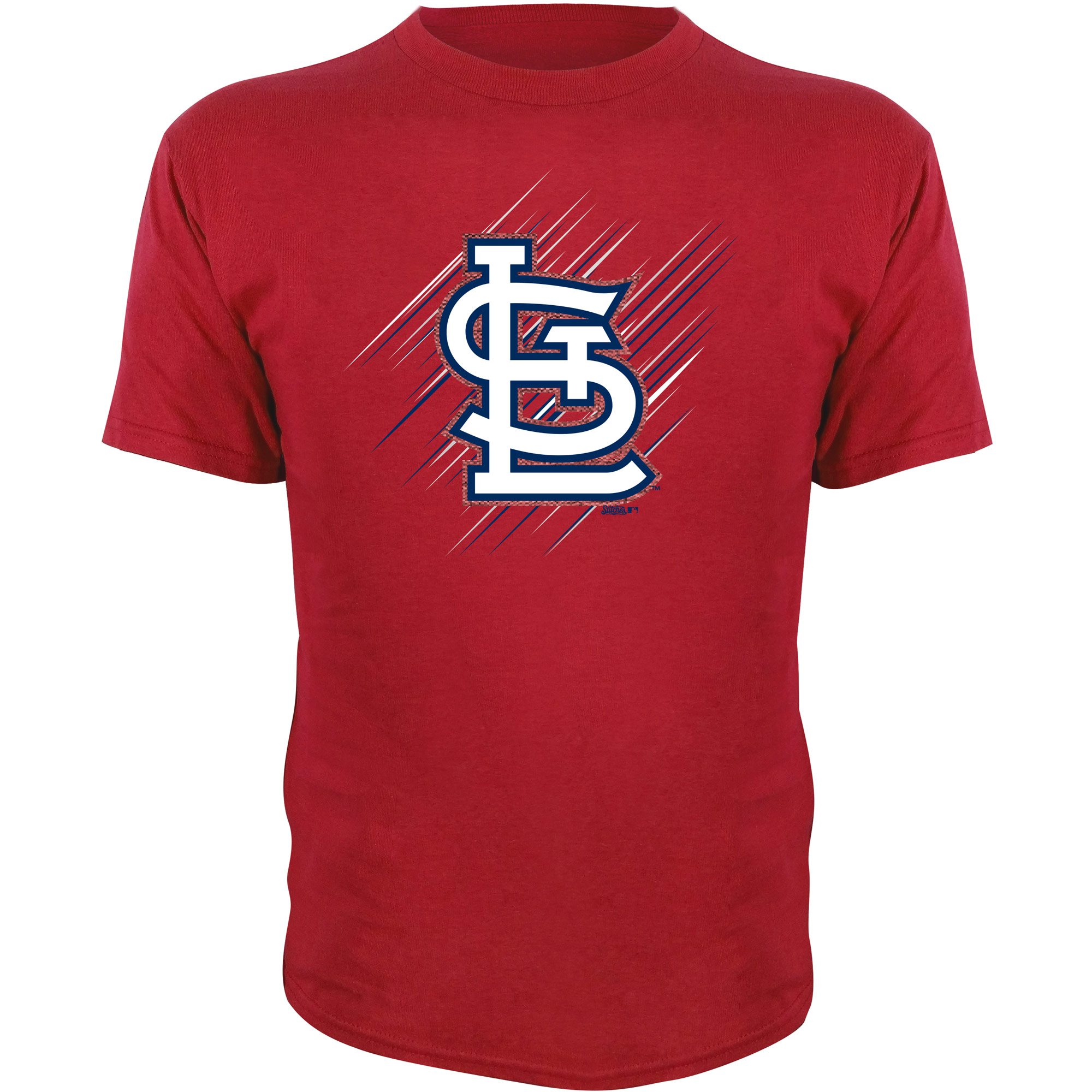 St. Louis Cardinals Stitches Youth Team Logo T-Shirt - Red