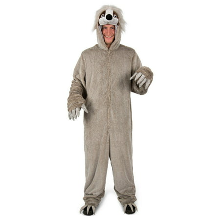 Mens Adult Halloween Costume (Mens Adult Swift The Sloth Halloween)