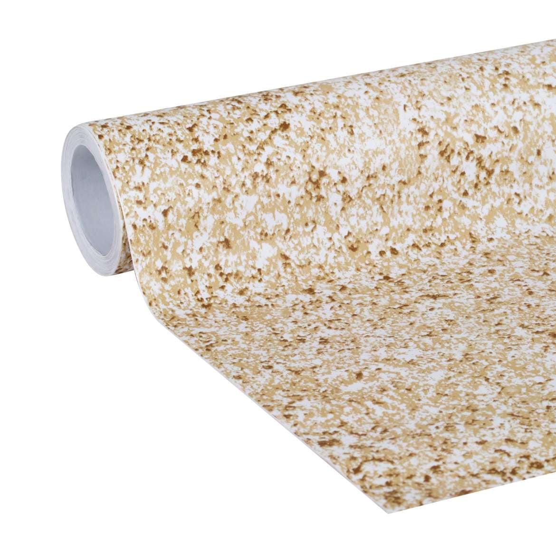 Duck Peel & Stick 20 In. x 15 Ft. Adhesive Laminate Shelf Liner, Granite Sandstone