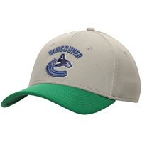 Vancouver Canucks Lombard Stretch Fit Flex Hat - Gray/Green