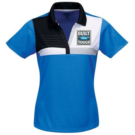 5a89d600 Buy Cool Shirts - Womens Built Ford Tough Premium Polo Shirt - Regatta Blue,  4XL - Walmart.com