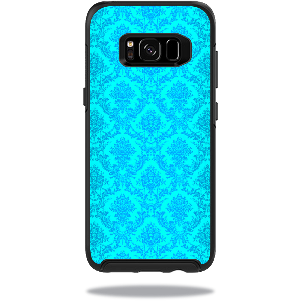 MightySkins Protective Vinyl Skin Decal for OtterBox SymmetrySamsung Galaxy S8 Case sticker wrap cover sticker skins Blue Vintage