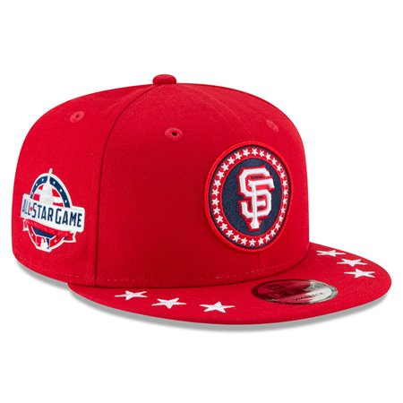 buy popular b4886 68a7f San Francisco Giants New Era 2018 MLB All-Star Workout 9FIFTY Snapback  Adjustable Hat - Red - OSFA - Walmart.com