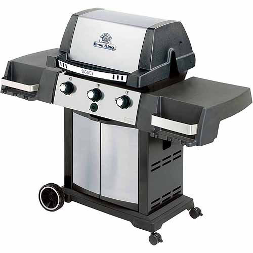 Broil King Grill Pro Black and Stainless Steel Signet 20 Gas Barbecue Grill