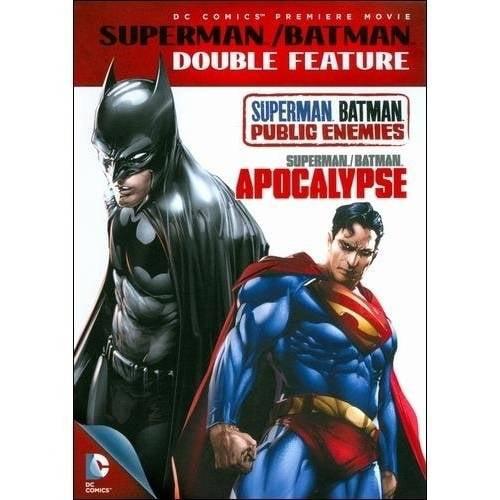 Superman/Batman Double Feature - Public Enemies / Apocalypse (2012) (Widescreen)