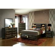 Furniture of America Strauss Wood 8-Drawer Double Dresser in Espresso