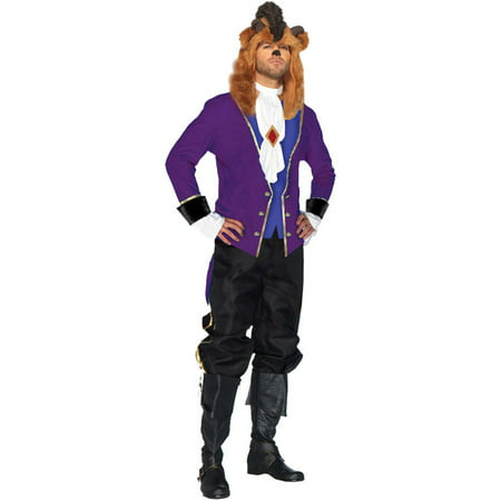 Beast 2 Pc Men's Adult Halloween Costume