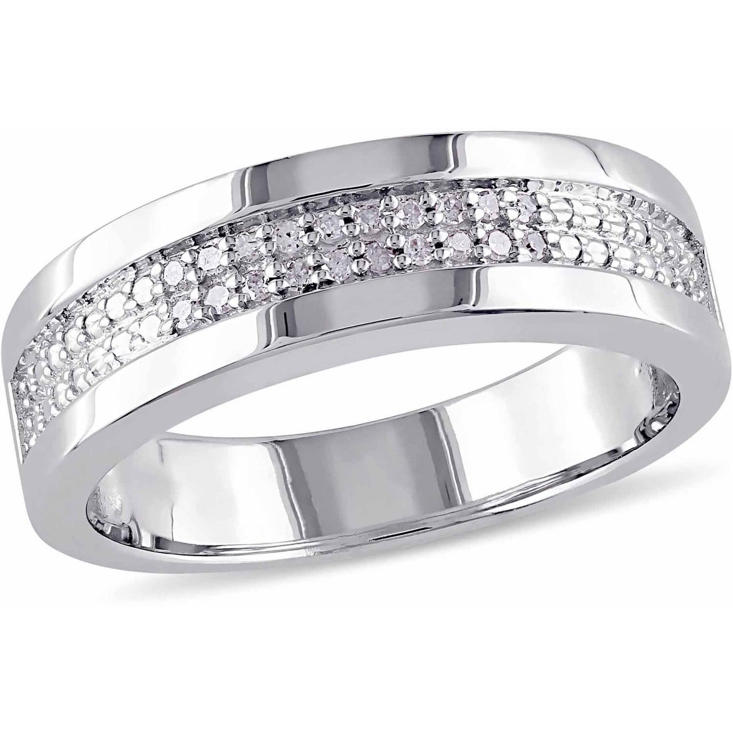 mens diamond wedding bands - Tungsten Mens Wedding Rings
