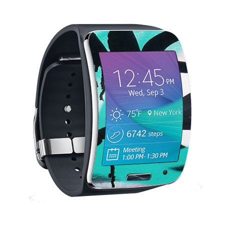 MightySkins Protective Vinyl Skin Decal for Samsung Galaxy Gear S Smart Watch cover wrap sticker skins Graffiti Tagz