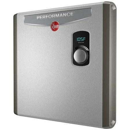 Rheem Retex-27 5.3 GPM 27 kw Self-Modulating Performance Tankless Electric Water Heater (New Open Box) (Rheem 27)