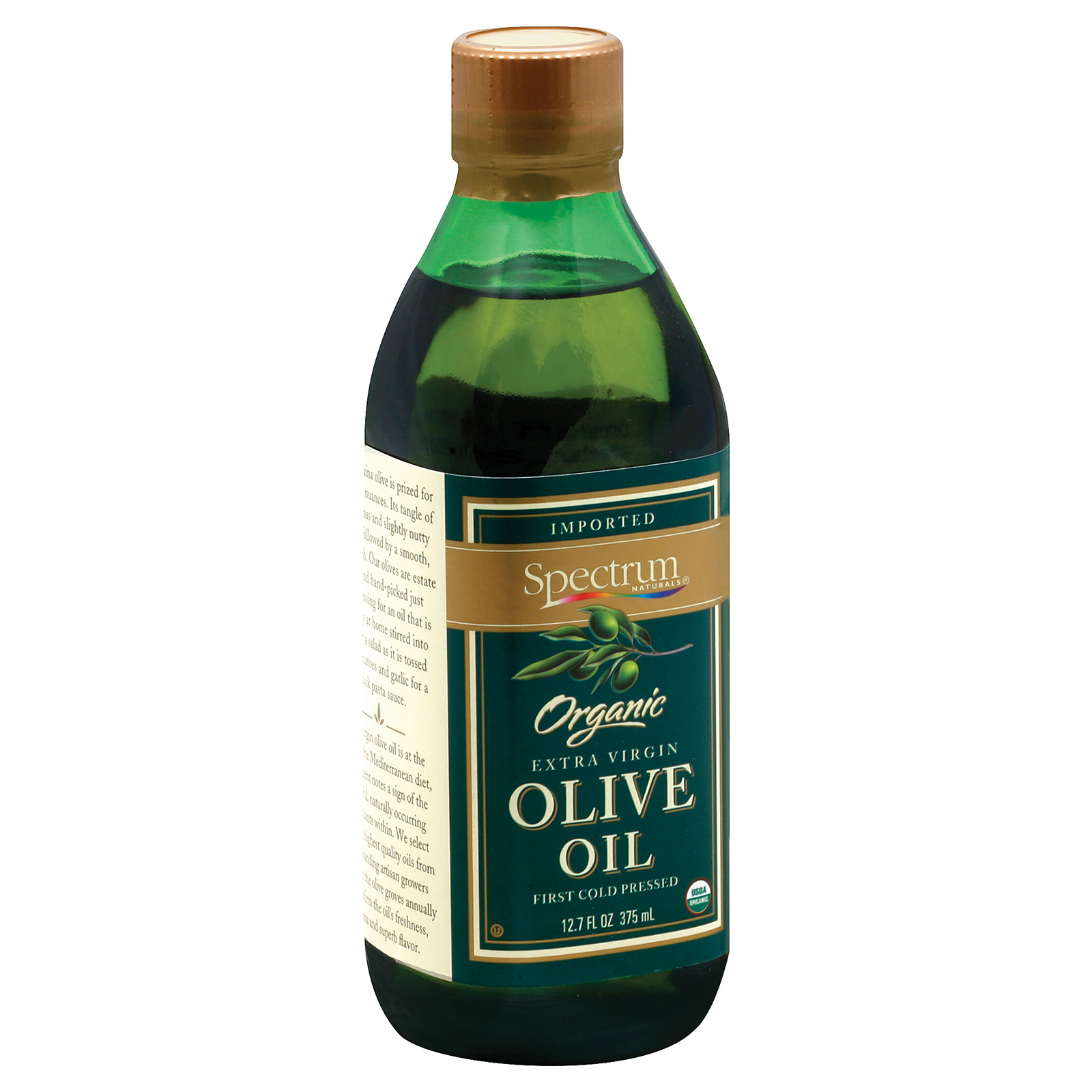 Spectrum Naturals Organic Unrefined Extra Virgin Olive Oi...