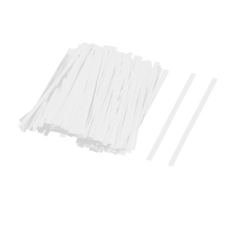 Twist Tie Crafts (Gift DIY Craft Candy Biscuit Bag Lollipop Packing Twist Ties Silver Tone 300pcs )