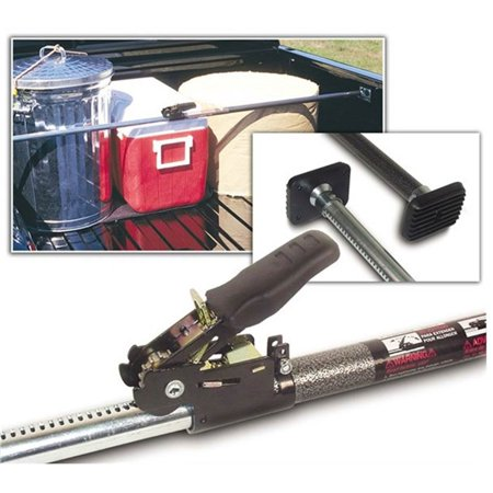 Keeper KargoBar Pickup Truck & SUV Expandable 40 to 70 Inch Ratchet (2 Pack) - image 6 of 9
