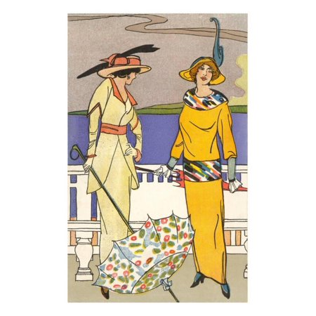 French Fashion, Art Deco Print Wall Art ()