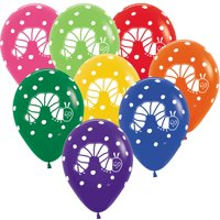 The Very Hungry Caterpillar Assorted Latex Balloons