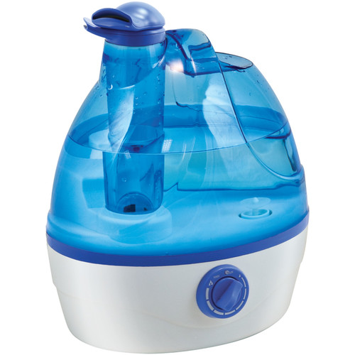 Comfort Zone Czhd24 0.6-Gallon Ultrasonic Cool Mist Humidifier