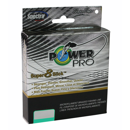 Power Pro 30-lb Super 8 Slick Braid, 300 yds