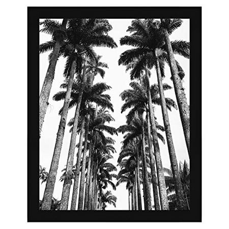 Americanflat 22x28 Black Poster Frame - Thick Molding - Hanging Hardware Included Thick Steel Frame