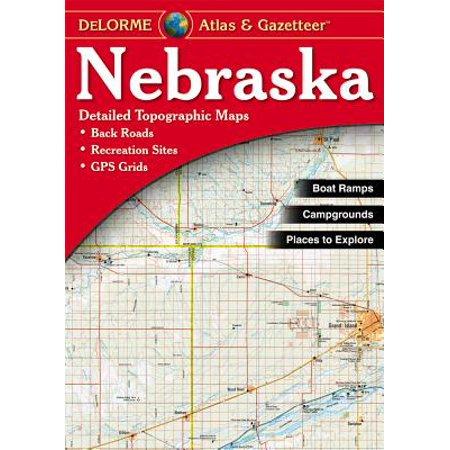 - Nebraska - Delorme 2nd: 9780899333281