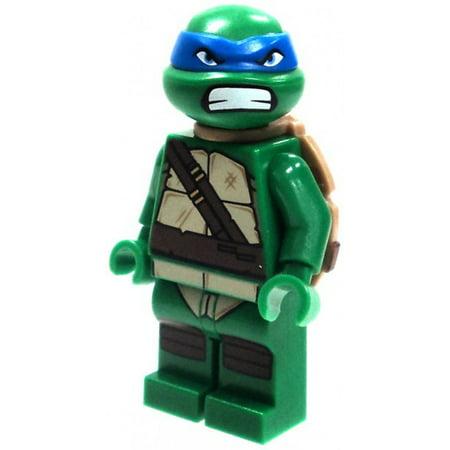 LEGO Teenage Mutant Ninja Turtles Loose Leonardo with Angry Face Minifigure [No Packaging]](Ninja Turtles Face)