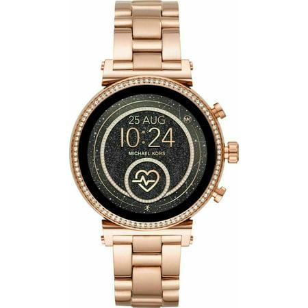 Michael Kors MKT5063 Slim Sofie Rose Gold Smart Watch