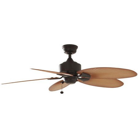 Hampton Bay Lillycrest 52 in. Indoor/Outdoor Aged Bronze Ceiling Fan (Hampton Bay Ceiling Fan Light Cover Replacement)