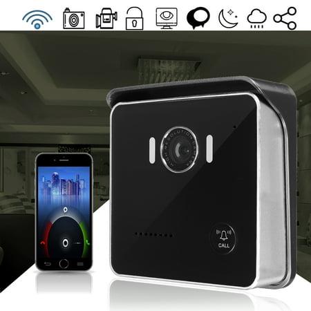 WIFI Wireless P2P Onvif Smart Home Night Visual Video Door Bell