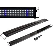 "TMS 48"" Aquarium LED Lights 2 Modes Bright/Lunar Freshwater Tropical Fish Tank Lights"