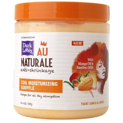 Dark and Lovely Au Naturale Coil Moisturizing Souffle  14 oz (Pack of 3)