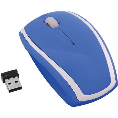 FileMate Imagine Series M2220 Wireless Optical Mouse, Assorted Two Tone Colors