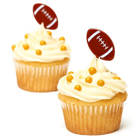 Amscan Football Party Appetizer Cupcakes Food 3