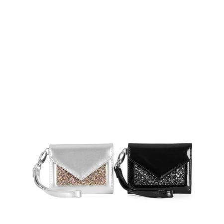 No Boundaries Envelope Wristlet Wallet 2-Piece Bundle Gifts for Girls and