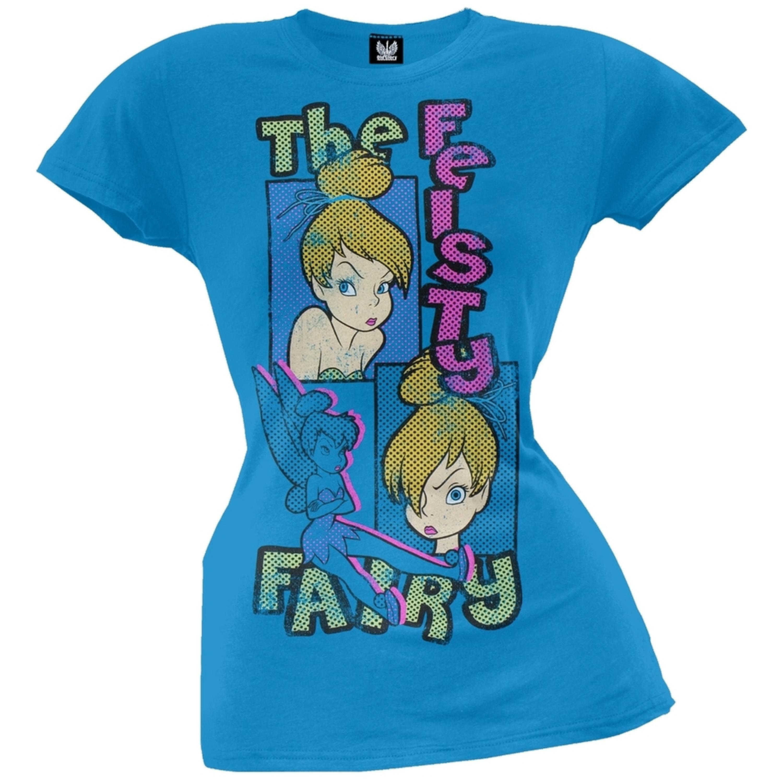 Tinkerbell - Fiesty Fairy Juniors T-Shirt