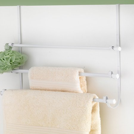 Popular bath over the door towel rack for Door towel racks for bathrooms