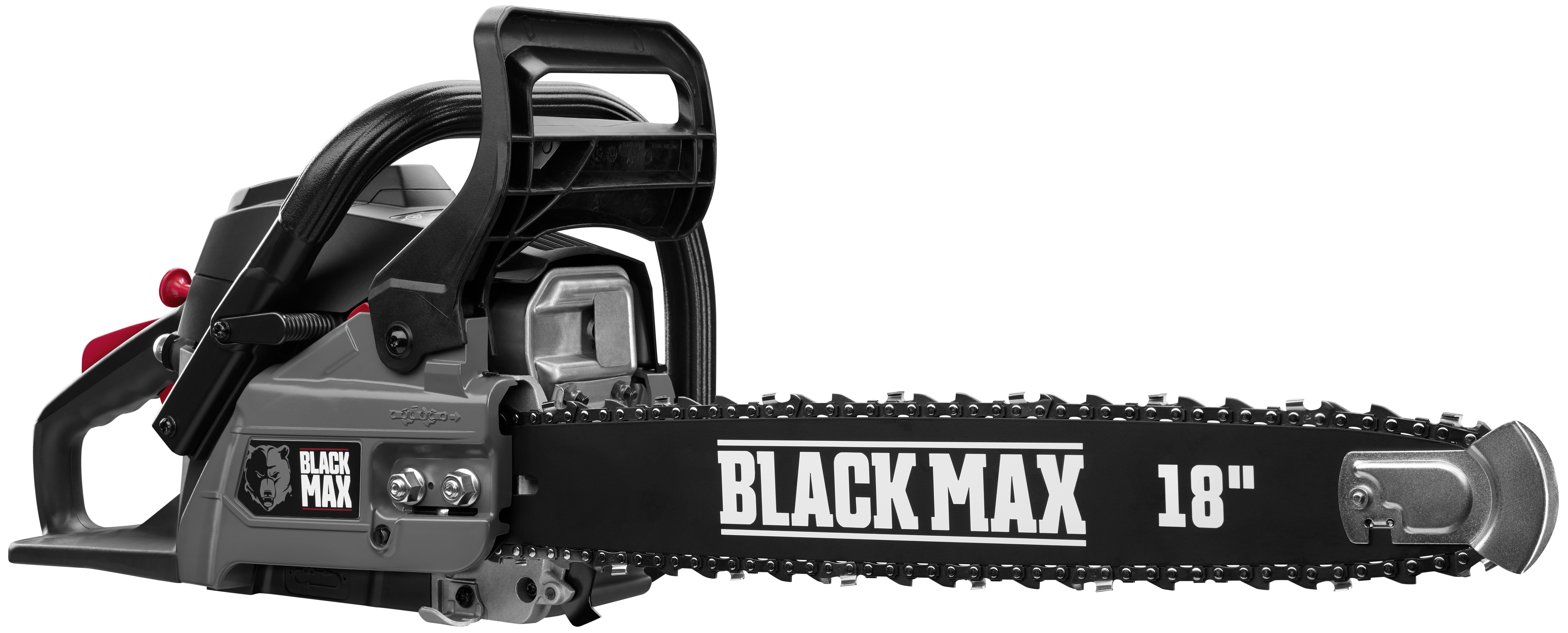 Black Max 38cc 2 Cycle Engine 18 Inch Gas Chainsaw Walmart Com Walmart Com