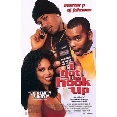 "I Got the Hook-Up - movie POSTER (Style A) (11"" x 17"") (1998)"